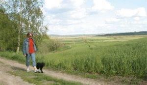 Naturen spiller en stor rolle for Inger og hendes familie.